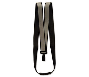 "Advantus Corporation AVT-75576 Recycled Breakaway Lanyard, J-Hook Style, 36"" Long, Black, 10/Box by ADVANTUS CORPORATION"