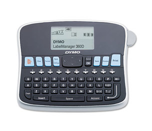 DYMO 1754488 LabelManager 360D, 2 Lines, 2 4/5w x 7 19/25d x 5 9/10h by DYMO