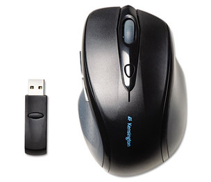 ACCO Brands Corporation K72370US Pro Fit Full-Size Wireless Mouse, Right, Black by KENSINGTON