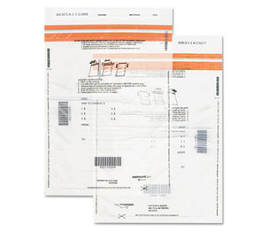 QUALITY PARK PRODUCTS 45231 Tamper-Evident Deposit Bags, 12 x 16, Clear, 100 per Pack by QUALITY PARK PRODUCTS