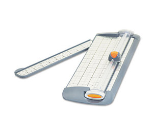 """ACME UNITED CORPORATION 15191 TrimAir Titanium Rotary Paper Trimmer, Narrow Base, 12"""", Grey by ACME UNITED CORPORATION"""