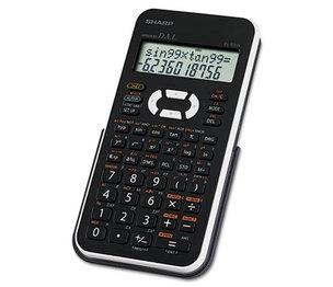 Sharp Electronics EL531XBWH EL-531XBWH Scientific Calculator, 12-Digit LCD by SHARP ELECTRONICS