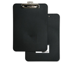"BAUMGARTENS 61624 Unbreakable Recycled Clipboard, 1/2"" Capacity, 8 1/2 x 11, Black by BAUMGARTENS"
