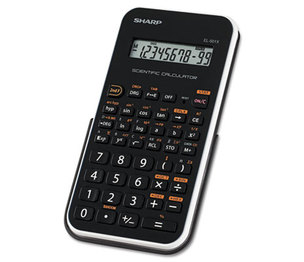Sharp Electronics EL501XBWH EL-501XBWH Scientific Calculator, 10-Digit LCD by SHARP ELECTRONICS