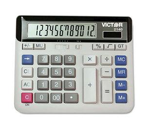 Victor Technology, LLC 2140 2140 Desktop Business Calculator, 12-Digit LCD by VICTOR TECHNOLOGIES