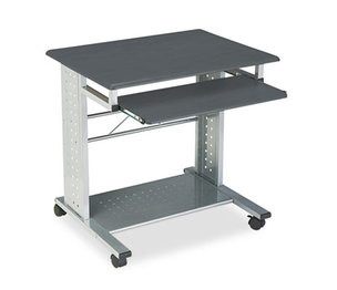 Mayline Group 945ANT Empire Mobile PC Cart, 29-3/4w x 23-1/2d x 29-3/4h, Anthracite by MAYLINE COMPANY