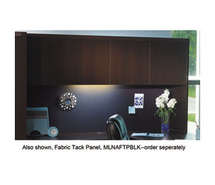 Mayline Group AHW72LDC Aberdeen Series Laminate Wood Door Hutch, 72w x 15d x 39h, Mocha by MAYLINE COMPANY