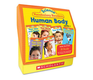 Scholastic 0545149185 Science Vocabulary Readers: Human Body, 26 books/16 pages and Teaching Guide by SCHOLASTIC INC.