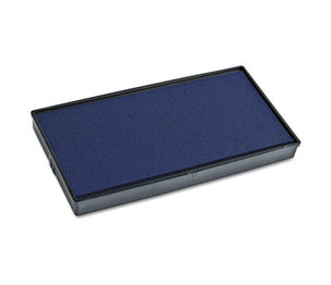 Consolidated Stamp Manufacturing Company 065466 2000 PLUS Replacement Ink Pad for Printer P20 & Dual Pad Printer P20, Blue by CONSOLIDATED STAMP