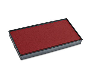 Consolidated Stamp Manufacturing Company 065476 2000 PLUS Replacement Ink Pad for Printer P60, Red by CONSOLIDATED STAMP