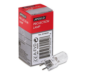 APOLLO AUDIO VISUAL APOAEVD Replacement Bulb for 3M 9550, 9800 Overhead Projectors, 36 Volt by APOLLO AUDIO VISUAL
