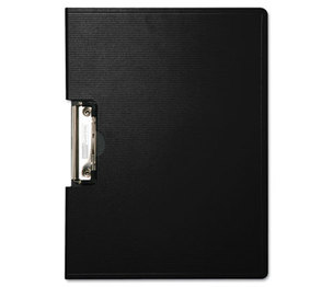 "BAUMGARTENS 61644 Portfolio Clipboard With Low-Profile Clip, 1/2"" Capacity, 11 x 8 1/2, Black by BAUMGARTENS"