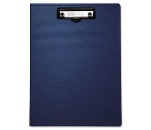 "BAUMGARTENS 61633 Portfolio Clipboard With Low-Profile Clip, 1/2"" Capacity, 8 1/2 x 11, Blue by BAUMGARTENS"
