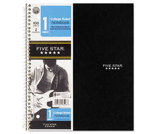 MeadWestvaco 06044 Trend Wirebound Notebooks, College Rule, 8 1/2 x 11, 1 Subject, 100 Sheets by MEAD PRODUCTS