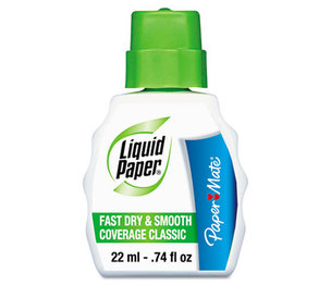 Sanford, L.P. 61446 Fast Dry Classic Correction Fluid, 22 ml Bottle, White by SANFORD
