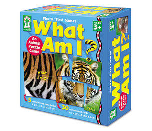 Carson-Dellosa Publishing Co., Inc KE-842002 Photo First Games, What Am I by CARSON-DELLOSA PUBLISHING