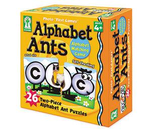 Carson-Dellosa Publishing Co., Inc KE-842001 Photo First Games, Alphabet Ants by CARSON-DELLOSA PUBLISHING