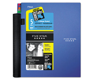 MeadWestvaco 08092 Advance Wirebound Notebook, College Rule, 8 1/2 x 11, 5 Subject, 200 Sheets by MEAD PRODUCTS