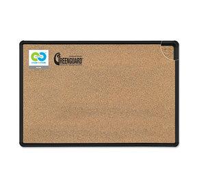 BALT INC. 300PC-T1 Black Splash-Cork Board, 48 x 36, Natural Cork, Black Frame by BALT INC.