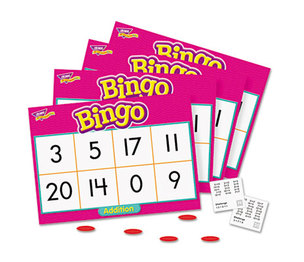 TREND ENTERPRISES, INC. T6069 Young Learner Bingo Game, Addition by TREND ENTERPRISES, INC.