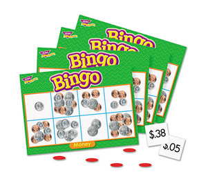 TREND ENTERPRISES, INC. T6071 Young Learner Bingo Game, Money by TREND ENTERPRISES, INC.