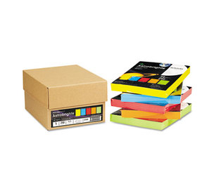 Neenah Paper, Inc 22998 Astrobrights Colored Paper, 24lb, 8-1/2 x 11, 5 Assorted, 1250 Sheets/Carton by NEENAH PAPER