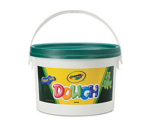 BINNEY & SMITH / CRAYOLA 570015044 Modeling Dough Bucket, 3 lbs., Green by BINNEY & SMITH / CRAYOLA