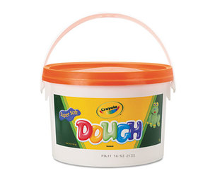BINNEY & SMITH / CRAYOLA 570015036 Modeling Dough Bucket, 3 lbs., Orange by BINNEY & SMITH / CRAYOLA
