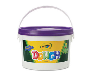 BINNEY & SMITH / CRAYOLA 570015040 Modeling Dough Bucket, 3 lbs., Violet by BINNEY & SMITH / CRAYOLA