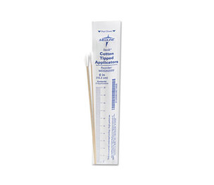 "Medline Industries, Inc MDS202000 Cotton-Tipped Applicators, 6"", 100 Applicators/Box by MEDLINE INDUSTRIES, INC."