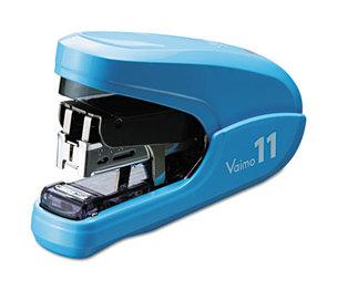 MAX Co. LTD HD92320 Flat Clinch Light Effort Stapler, 35-Sheet Capacity, Blue by MAX USA CORP.