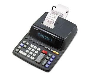 Sharp Electronics EL2196BL EL2196BL Two-Color Printing Calculator, Black/Red Print, 3.7 Lines/Sec by SHARP ELECTRONICS