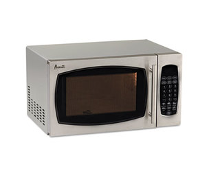 Avanti Products MO9003SST 0.9 Cubic Foot Capacity Stainless Steel Microwave Oven, 900 Watts by AVANTI