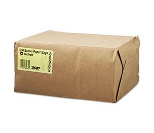 GENERAL SUPPLY BAG GK12-500 12# Paper Bag, 40lb Kraft, Brown, 7 1/16 x 4 1/2 x 13 3/4, 500/Pack by GENERAL SUPPLY