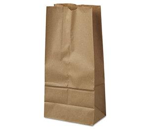 GENERAL SUPPLY BAG GK16-500 16# Paper Bag, 40lb Kraft, Brown, 7 3/4 x 4 13/16 x 16, 500/Pack by GENERAL SUPPLY