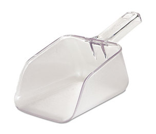 Bouncer Bar/Utility Scoop, 32oz, Clear by RUBBERMAID COMMERCIAL PROD.