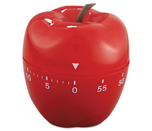 "BAUMGARTENS 77042 Shaped Timer, 4"" dia., Red Apple by BAUMGARTENS"