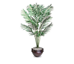 Nu-Dell Manufacturing Company, Inc T7786 Artificial Areca Palm Tree, 6-ft. Overall Height by NU-DELL MANUFACTURING