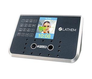 Lathem Time Company FR650-KIT Face Recognition Time Clock System. 500 Employees, Gray, 7-1/4 x 3-1/2 x 5-1/4 by LATHEM TIME CORPORATION