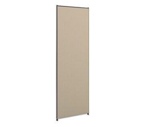 BASYX P7224GYGY Vers Office Panel, 24w x 72h, Gray by BASYX