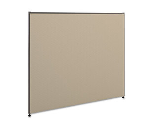 BASYX P4248GYGY Vers Office Panel, 48w x 42h, Gray by BASYX