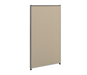 BASYX P4224GYGY Vers Office Panel, 24w x 42h, Gray by BASYX