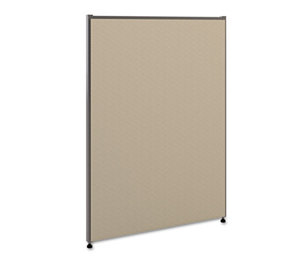 BASYX P4230GYGY Vers Office Panel, 30w x 42h, Gray by BASYX
