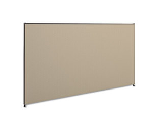 BASYX P4272GYGY Vers Office Panel, 72w x 42h, Gray by BASYX