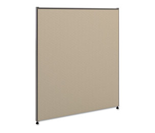 BASYX P4236GYGY Vers Office Panel, 36w x 42h, Gray by BASYX