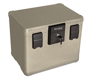 FireKing Security Group SS106 Fire and Waterproof Chest, 0.60 ft3, 16w x 12-1/2d x 13h, Taupe by FIRE KING INTERNATIONAL