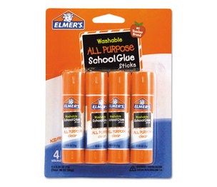 HUNT MFG. E542 Washable All Purpose School Glue Sticks, 4/Pack by HUNT MFG.