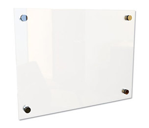 "BALT INC. 83948 Enlighten Glass Board, Frameless, Frosted Pearl, 12"" x 12"" x 1/8"" by BALT INC."