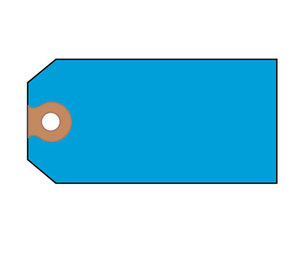 Avery 12355 Shipping Tags, Paper, 4 3/4 x 2 3/8, Blue, 1,000/Box by AVERY-DENNISON