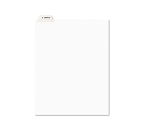 Avery 12393 Avery-Style Preprinted Legal Bottom Tab Dividers, Exhibit T, Letter, 25/Pack by AVERY-DENNISON